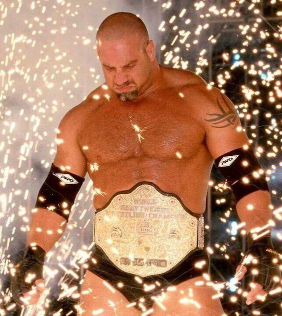 Goldberg สมัยเป็นแชมป์ WCW