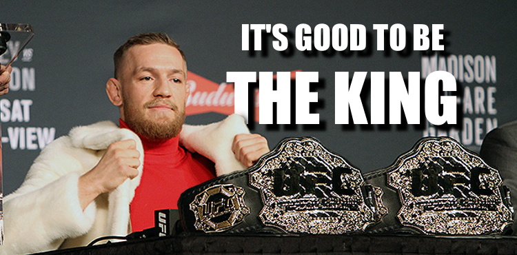 conor-mcgregor-two-belts-king