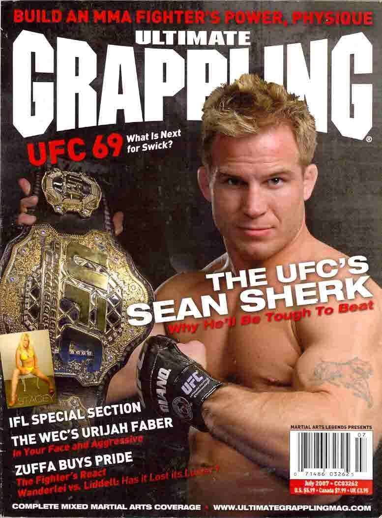 UFC-Champion-Sean-Sherk-On-Magazine-Cover-Page